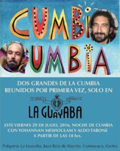 Yohanan Meshoulan y Aldo Tabone por primera vez en vivo en La Guayaba