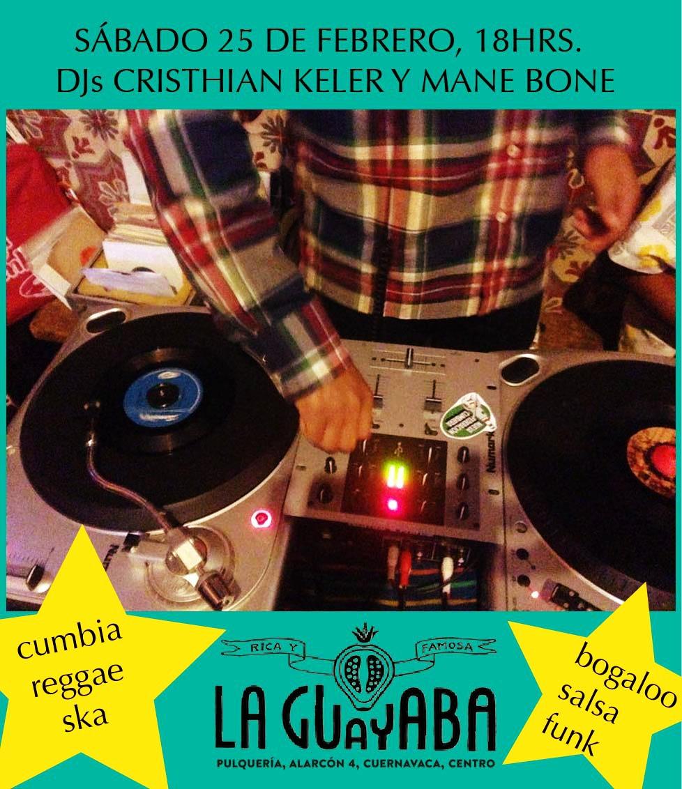DJ Mane Bone en el nuevo Dancing Floor de La Guayaba!