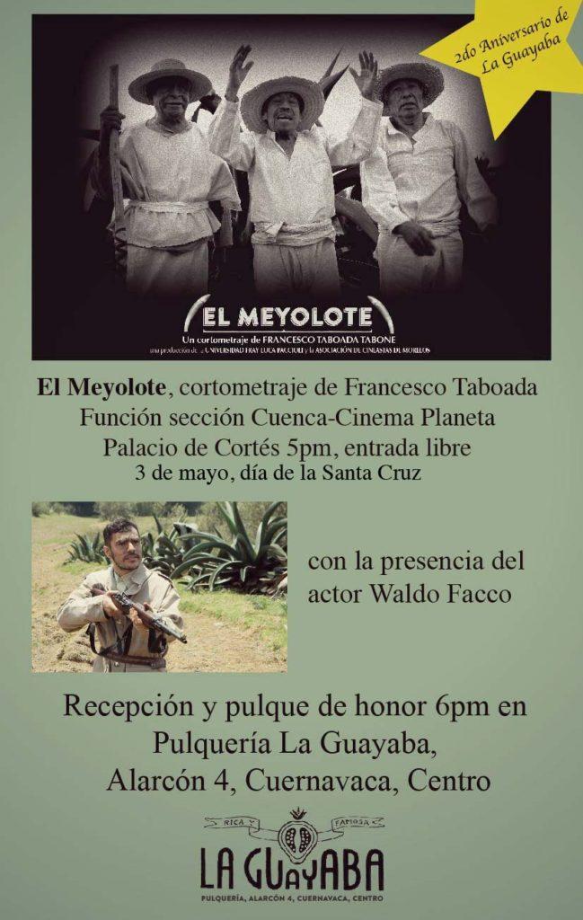 Se estrena el corto El Meyolote de Francesco Taboada Tabone en Cinema Planeta